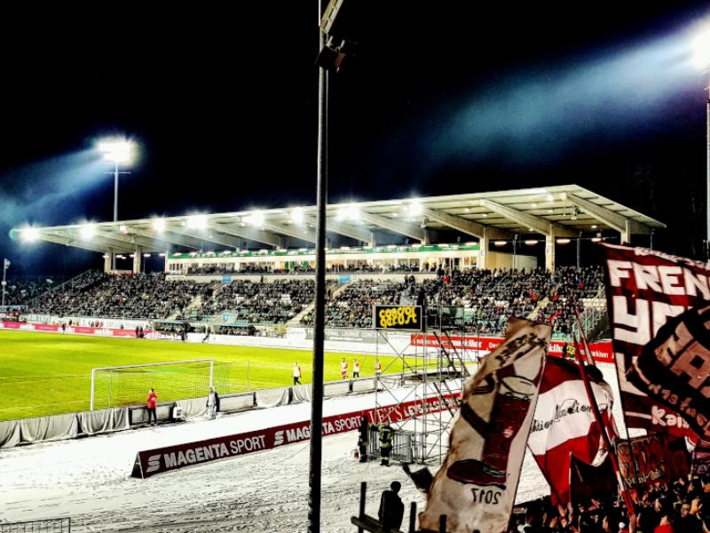 Zuschauerzahlen 1. – 3. Liga vom 1. Februarwochenende!