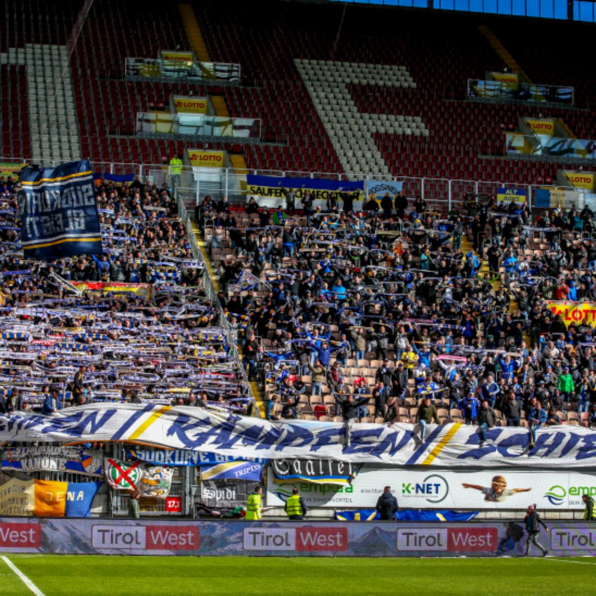 Zuschauerzahlen 1. – 3. Liga vom 2. Märzwochenende!
