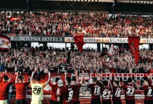 Zuschauerzahlen und Auswärtsfahrer: 27. Spieltag (1./2. Liga), 31. Spieltag (3. Liga)