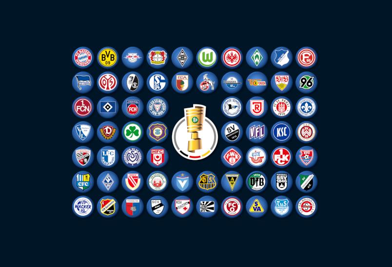 """DFB-Pokal Probeauslosung: """"diefalsche9-DFB-Pokal"""""""