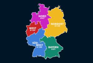 Zuschauerzahlen der Regionalligen 2018/19