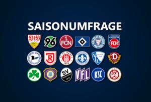 Saisonumfrage zur 2. Bundesliga