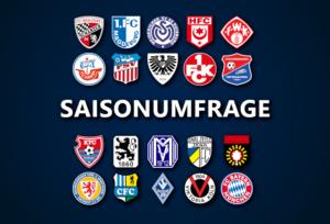 Ergebnisse der Saisonumfrage zur 3. Liga