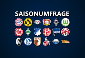Saisonumfrage zur 1. Bundesliga