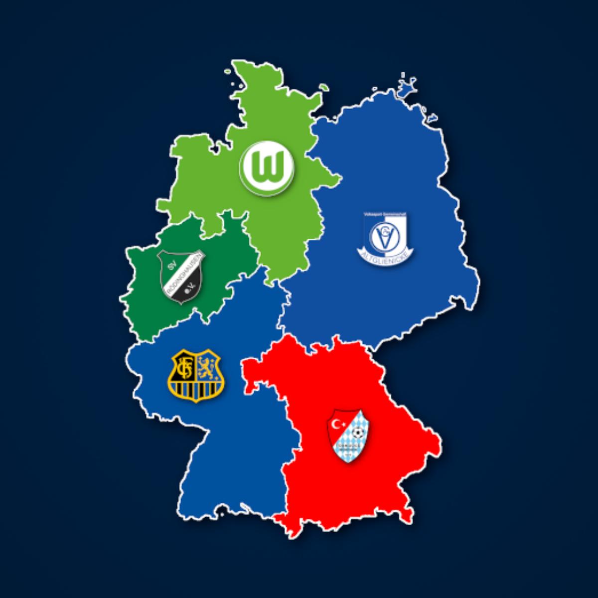 Die Tabellenführer der Regionalligen