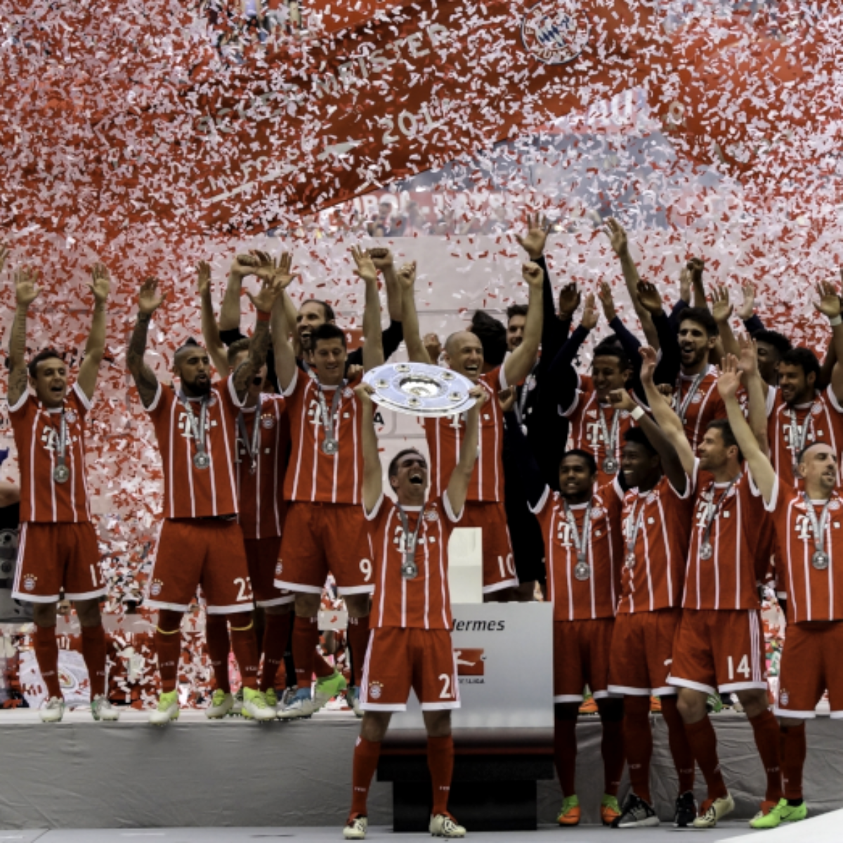 Die Tabellenführer der Bundesliga in den letzten 10 Jahren