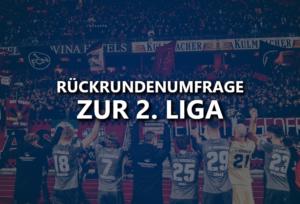 Rückrundenumfrage zur 2. Bundesliga