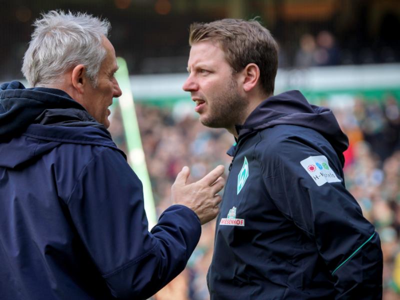 Punkteschnitt der letzten 10 Trainer von Werder Bremen