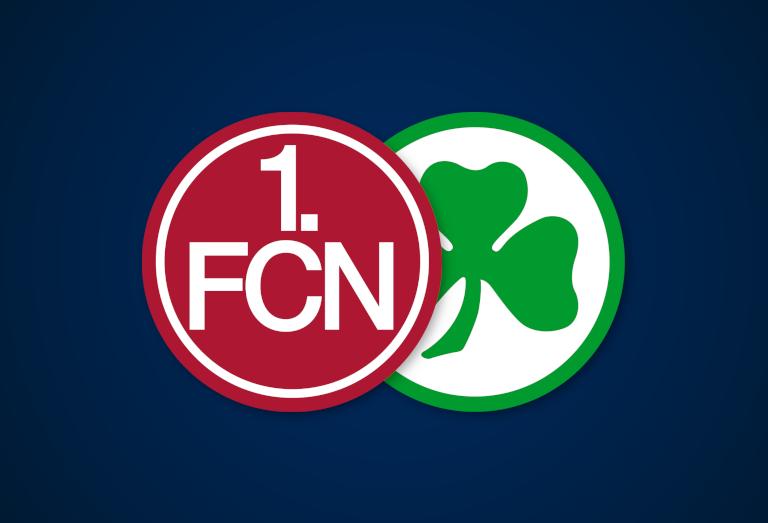 Saisonplatzierungen im Vergleich: Nürnberg und Fürth