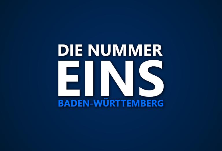 Die Nummer 1 in Baden-Württemberg: Wer war in welcher Saison das beste Team im Bundesland?