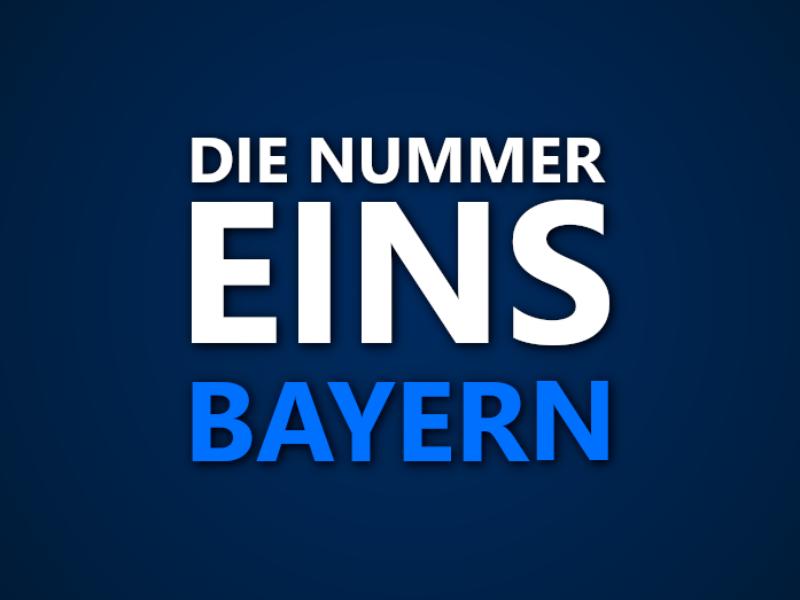 Die Nummer 1 in Bayern: Wer war in welcher Saison das beste Team im Bundesland?