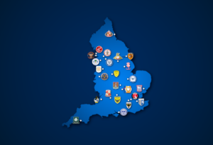 Landkarte: League One 2020/21