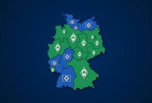 Häufiger bei Google gesucht: Werder Bremen oder Hambuger SV?