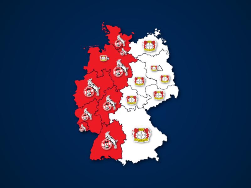 Häufiger bei Google gesucht: Bayer Leverkusen oder 1. FC Köln?