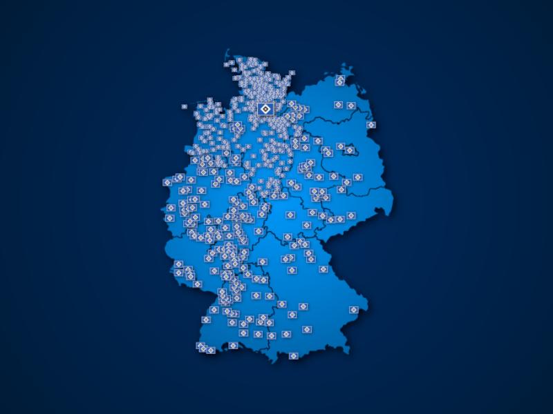 Fanclubs des Hamburger SV in Deutschland