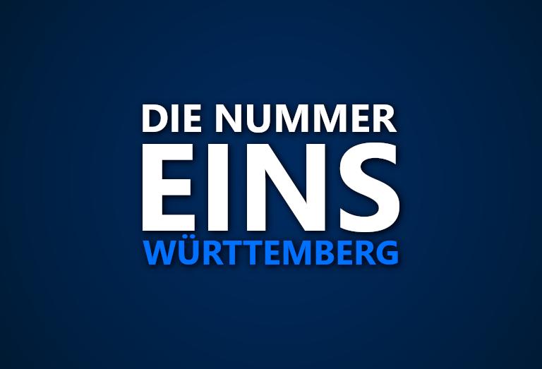 Die Nummer 1 in Württemberg: Wer war in welcher Saison das beste Team in der Region?
