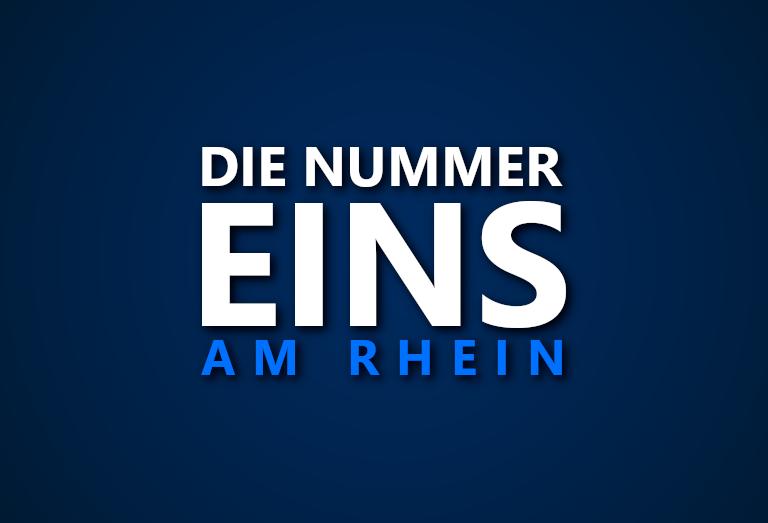 Die Nummer 1 am Rhein: Wer war in welcher Saison das beste Team entlang des Flusses?