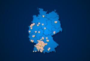 Fanclubs des VfB Stuttgart in Deutschland