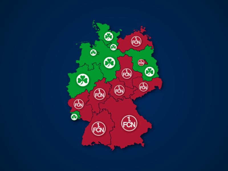 Häufiger bei Google gesucht: 1. FC Nürnberg oder SpVgg Fürth?