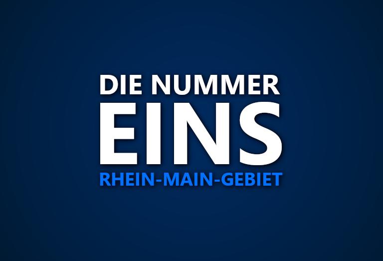 Die Nummer 1 im Rhein-Main-Gebiet: Wer war in welcher Saison das beste Team in der Region?