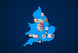 Landkarte: Championship 2021/22