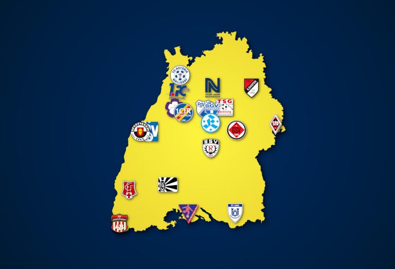 Landkarte: Oberliga Baden-Württemberg 2021/22 - Die falsche 9